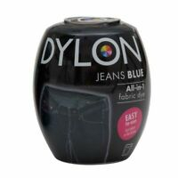 DYLON FABRIC DYE in Jeans Blue for Brilliant & Permanent Results 200g   2451