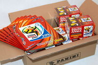 Panini WC WM 2010 South Africa – 12 x BOX DISPLAY + 6 x Leeralbum ALBUM MINT!