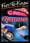 FUN-TO-KNOW - CASINO GAMES-FUN-TO-KNOW - CASINO GAMES  DVD NEW