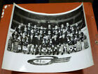 1969-70 8x10 Quebec Aces Black & White Glossy Photo