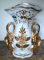 alte Porzellan Vase filigran floral