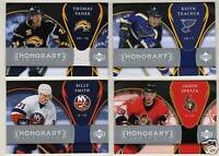 07-08 Trilogy Billy Smith Jersey  Honorary Swatches Islanders 2007