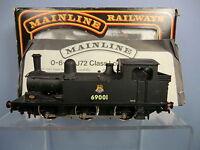 MAINLINE MODEL No.37070 LNER  CLASS. J72  0-6-0T  No.69001 TANK LOCO   VN MIB