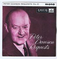 Peter Dawson Requests No 2 EP / Mono HMV / 7EG 8752 UK / 62