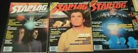 STAR TREK, CLOSE ENCOUNTERS IN 3 Sci-Fi Magazines