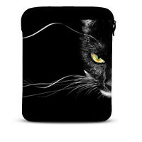 BLACK LEOPARD Sleeve Bag Case Cover for Apple iPad 2, iPad 3 3rd Generation C0