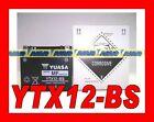 BATTERIE MOTO SCOOTER YUASA YTX12-BS YTX12 BS ORIGINAL 0651090