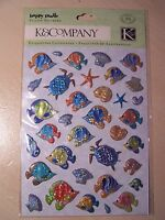 NEW-K&COMPANY- HAPPY TRAILS -PILLOW STICKERS