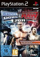WWE Smackdown vs. Raw 2011 - Playstation PS2 - deutsch - Neu / OVP
