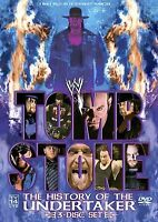 WWE - Tombstone: The History of the Undertaker (DVD, 2005, 3-Disc Set)