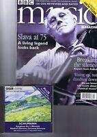 SLAVA / HINDEMETH BBC Music Magazine + CD     April 2002