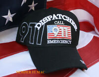 DISPATCHER CALL 911 CAP POLICE  HAT US ARMY NAVY AIR FORCE MARINES COAST GUARD