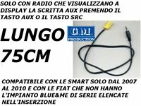 CABLE ONLY AUDIO AUX IN MP3 IPOD IPHONE IPAD FIAT GRANDE PUNTO 500 159 LANCIA