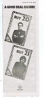 ELVIS COSTELLO / NICK LOWE  press clipping 1977 approx 15x40cm (5/11/1977)