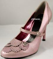 PLAYBOY SHOES VIOLE CRACKED PINK SIZE 6 NEW IN BOX RRP £75 SALE £55 BUY NOW FAB