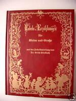 Fabeln Erzählungen für Kleine und Große 1980