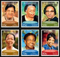 Bahamas 2012 Womens Suffrage 6v set MNH