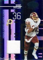 Sean Taylor 2005 Leaf Certified Materials Mirror Blue Game Used Jersey #/50