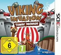 Viking Invasion 2 - Tower Defense - Nintendo 3DS - deutsch - Neu / OVP