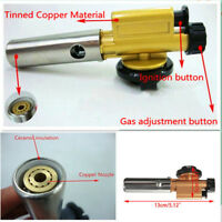 Gas Blow Torch Soldering Solder Iron Gun Flame Lighter Butane Welding Pen Burner