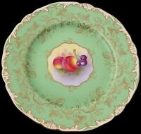 Fine Royal Worcester Fruit Painted Plate By Harry Ayrton Circa 1930's