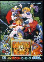 Gunstar Heroes SEGA Mega Drive MD Import Japan GENESIS