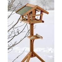 BIRDS WORLD WILD-Vogelhaus Runa-46x30x121cm-Futterhaus Winterfutter Meisen Amsel