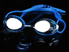 Top Grade UV Protection/Waterproof/Anti-Fog Lens Blue Unisex Swimming Goggles