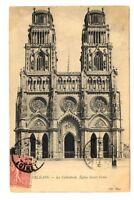 CPA 45 Loiret Orléans la Cathédrale Eglise Ste Croix
