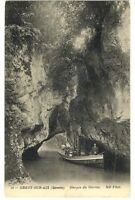 CPA 73 Savoie Grésy sur aix  Gorges du Sierroz animé