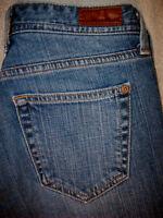 EDDIE BAUER CLASSIC FIT STRETCH STRAIGHT LEG WOMENS Denim JEANS SIZE 4 S x 29