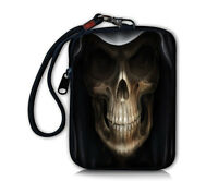 Skull Compact Digital Camera Case Bag Pouch Strap For Kodak Easyshare Cellphone
