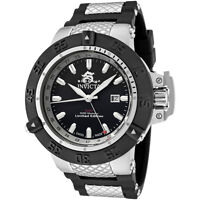 Swiss Made Invicta 0777 Subaqua Noma III GMT Limited Edition Watch + 3-Slot Box