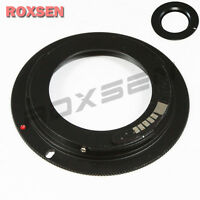 AF ADAPTER FOR M42 CARL ZEISS Screw Lens to Canon EOS EF MOUNT 7D 60D 600D 1100D
