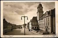 Geyer i.Erzgeb.,Markt mit Rathaus,tolle alte Ak v.1927