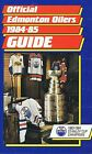 1984/85 Edmonton Oilers NHL Hockey Wayne Gretzky Media GUIDE