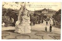 CPA 06 Alpes-Maritimes Nice le casino Municipal vue du Jardin Public animé