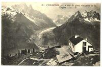 CPA 74 Haute-Savoie Chamonix La Mer de glace vue prise de la Flegère