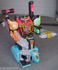 2002 Bandai Power Rangers Deluxe Isis Command Megazord w/Red Power Ranger