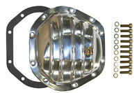 Polished Aluminum Dana 44 Differential Cover Kit Chevy GMC Jeep Mopar Ford