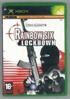 RAINBOW SIX LOCKDOWN MICROSOFT XBOX COMPLETO OTTIMO USATO ITA PAL