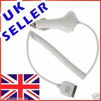 CE In Car Travel Charger For Apple iPhone 4 4S 3GS 3G iPod Touch Nano big pin