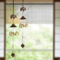 Lovely Metal Bells Wind Chime Outdoor Garden Hanging Charm Decor Ornament New