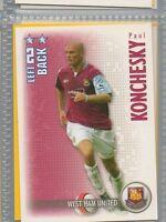 Paul Konchesky - West Ham - Football / Soccer Collector Card