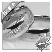 MW538 - 2 Eheringe,Trauringe,Verlobungsringe,Silber 925 ~ 71713