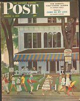 AUG 2  1947 SATURDAY EVENING POST magazine TOURISTS