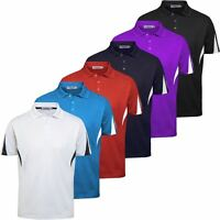 40% OFF Proquip Technical Panelled Mens Performance Funky Golf Polo Shirt