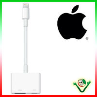 Adattatore digitale AV hdmi per iPhone 6 6s 7 Plus ORIGINALE Apple AV lightning