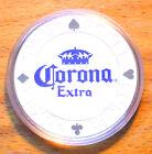 Corona Extra Poker Chip Golf Ball Marker - White