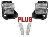 2003 2004 05-2007 CADILLAC CTS-V DEPO CLEAR FRONT FOGLIGHTS + SIDE MARKER LIGHTS